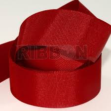 grossgrain ribbon 50m x 25mm grosgrain ribbon cranberry
