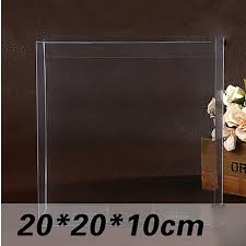 candy apple supplies wholesale wholesale 20pcs 20 20 10cm clear pvc box packing wedding christmas