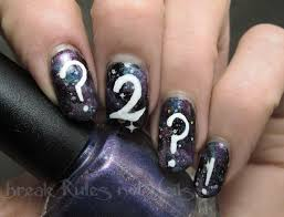 handpainted nail art break rules not nails