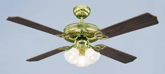 Light Fans Ceiling Fixtures Westinghouse Ceiling Fan Monarch Trio Polished Brass 132 Cm 52