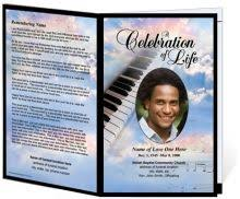 online service that offers customized memorial programs programming