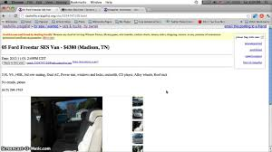 craigslist for sale craigslist nashville tennessee used cars and vans for sale by
