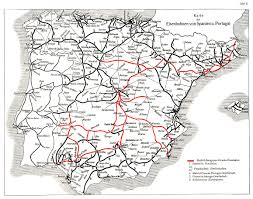 Map Of Seville Spain by Spain Rail Map Imsa Kolese