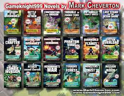 minecraft inspired novels markcheverton