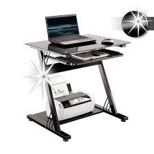 bureaux informatique bureau informatique en verre très brillant noir ct 3312d 1131