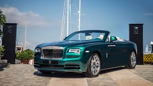 rolls royce wraith blue a rolls royce wraith and dawn anchored in the ambience of