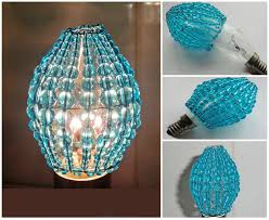 Beaded Turquoise Chandelier Crystal Chandelier Inspired Glass Beaded Lightbulb Candle Bulb