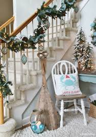 classic white christmas mantel design with tree in compelling