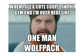 Gym Relationship Memes - q a the cute fitness couple and feeling like a one man wolfpack