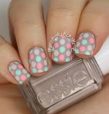 31 day nail art challenge day 8 polka dot nail art the nail