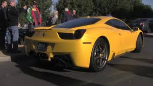 porsche yellow paint code 458 italia pearl yellow with start up youtube