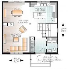 small open concept house plans house plan w3714 detail from drummondhouseplans