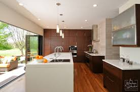 Bamboo Kitchen Cabinets by A Modern Kitchen With Charisma The Kitchen Studio Of Glen Ellyn