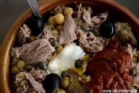 cuisine tunisienn lablabi tunisien