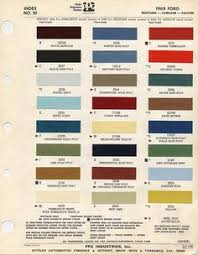 vintage ford paint chips 1965 faux fordite inspiration