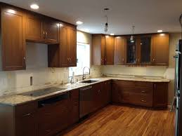 kitchen cabinets small l shaped kitchen with table combined color
