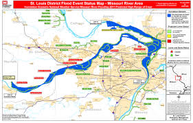 missouri breaks map missouri river flooding 2011 st louis radio