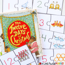 12 christmas free printable number puzzles