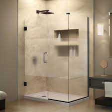 38 Shower Door Dreamline Unidoor Plus 34 3 8 In X 38 1 2 In X 72 In Semi