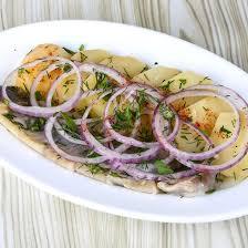 cuisiner le hareng frais recette hareng frais aux oignons