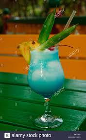 blue lagoon cocktail blue lagoon cocktail kali u0027s beach bar st martin st maarten stock