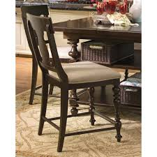 paula deen dining room paula deen furniture 9 counter height chair set of 2 homeclick com