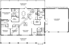 plan 2011545 ranch style bungalow with walkout basement a well