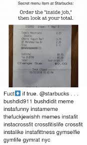 Meme Nyc Menu - 25 best memes about starbucks order starbucks order memes