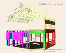 off the grid floor plans the ecofit 20 u0027x20 u0027 simple open floor plan passive solar living