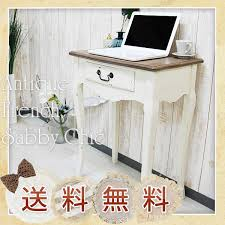 Shabby Chic Writing Desk by Kagurashi Interior And Miscellaneous Daily Goods Online Shop