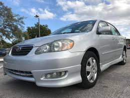 toyota corolla s 2005 for sale 2005 toyota corolla s in fl cars 4 you