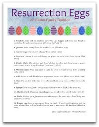 easter resurrection eggs crayon freckles resurrection eggs the easter story for kids