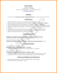 best resume sample for call center agent without experience skills