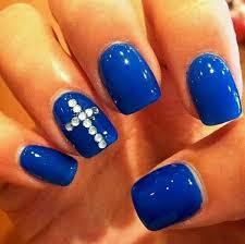cute acrylic nail designs with rhinestones zoneinteriordesign