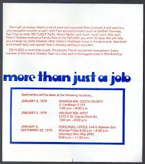Six Flags Locations Six Flags Over Mid America Employment Brochure 1979 2 Warps To