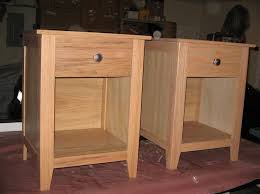 elegant mission style nightstands with amish parker mission