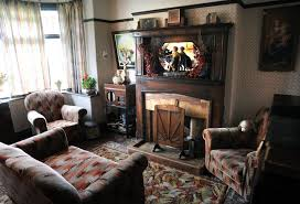 Interiors Woody Allen Aaron U0027s 1930s Themed Living Room Which Cost Thousands Of Pounds To