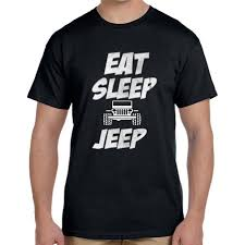 jeep shirt eat sleep jeep t shirt