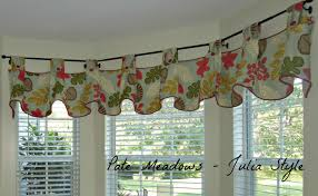 kitchen valance curtains
