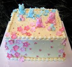 baby shower cakes fondant animals ideas of baby shower decorated