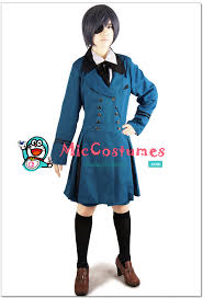 Black Butler Halloween Costumes Kuroshitsuji Black Butler Blue Ciel Cosplay Costume Sales
