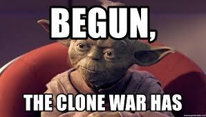 Meme Generator Yoda - begun the clone war has yoda star wars ep ii meme generator