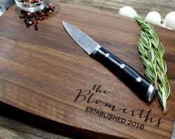 personalized cutting boards wedding handmade personalized wedding gift etsy