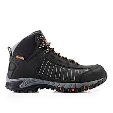scruffs cheviot waterproof safety hiker boots black sizes 7 12