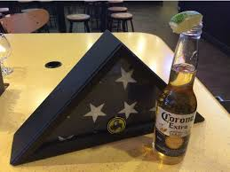 Fallen Comrade Table by Woman Orders A Beer For A Fallen Soldier At Buffalo Wild Wings