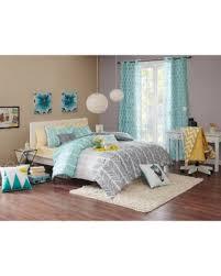 Twin Xl Grey Comforter Deal Alert Intelligent Design Kennedy Aqua Grey Comforter Set