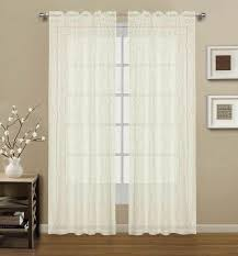 florence lace valance rod pocket lace panel u2013 marburn curtains
