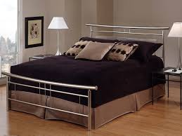 metal bedroom furniture amazon com hillsdale furniture 1331bkr soho bed set with rails
