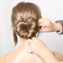 hairstyles with a hair donut buy princess hairstyles and get free shipping on aliexpress com
