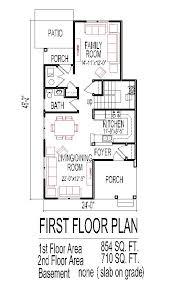 house plans narrow lot fashionable inspiration small house plans with narrow lot 3